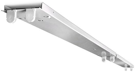 Image of LED 8' four lamp fixture